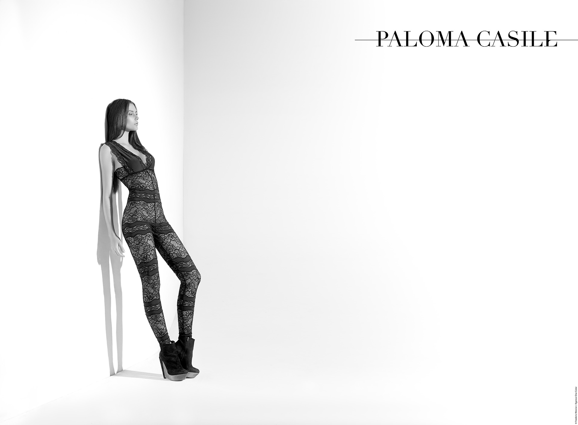 paloma casile ss 2015 campaign lingerie underwear frederic mercier fashion photographer one color