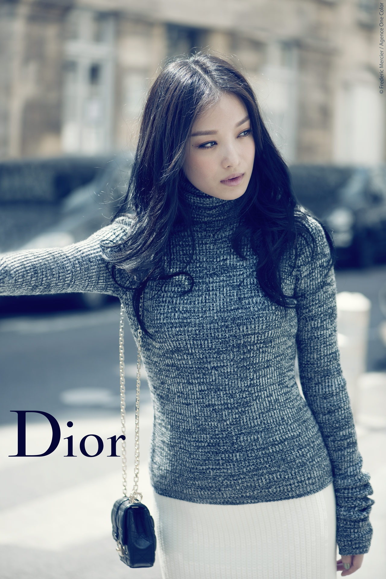 christian dior china editorial for grazia with chinese actress ni ni frederic mercier fashion photographer one color