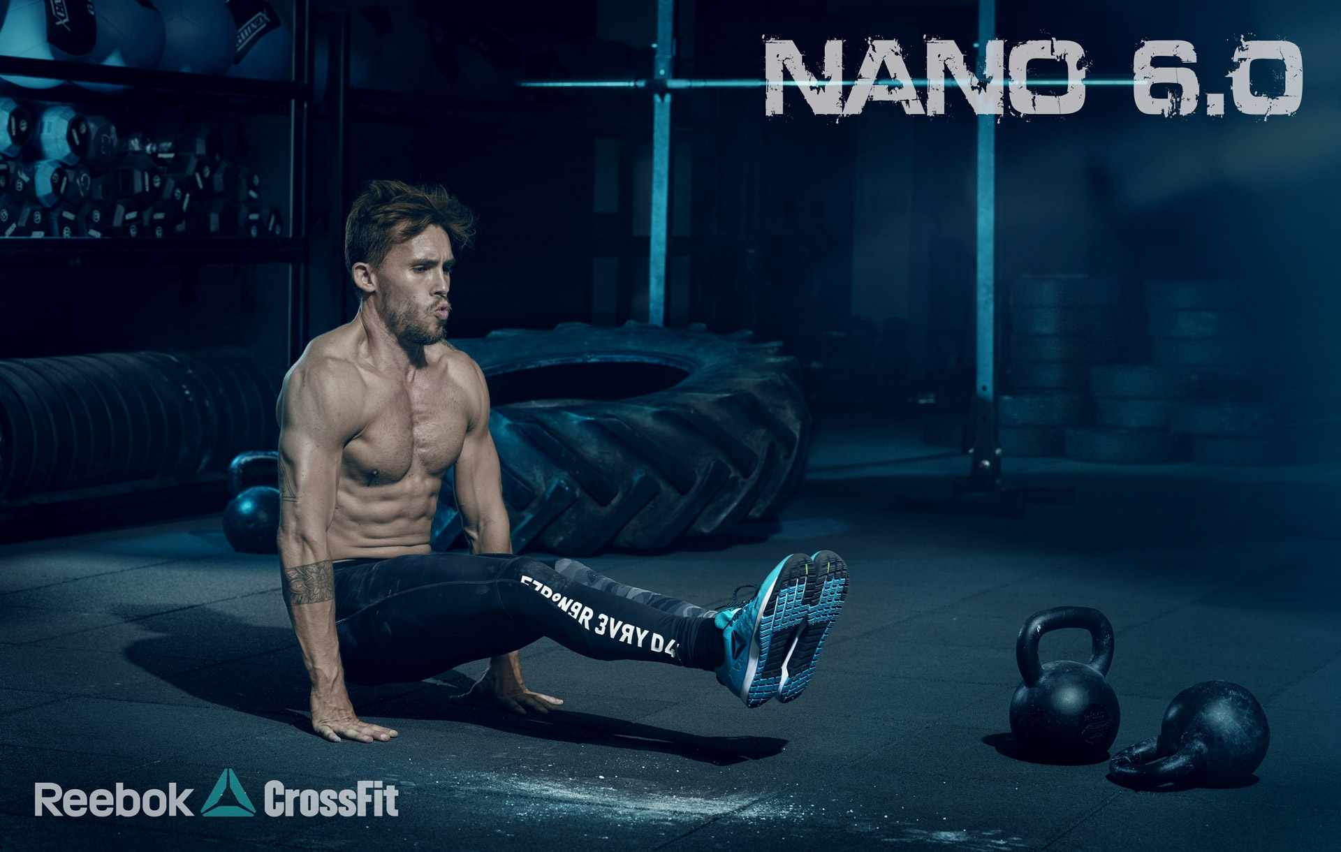 reebok crossfit fitness workout gym strong muscle nano frederic mercier fashion photographer one color
