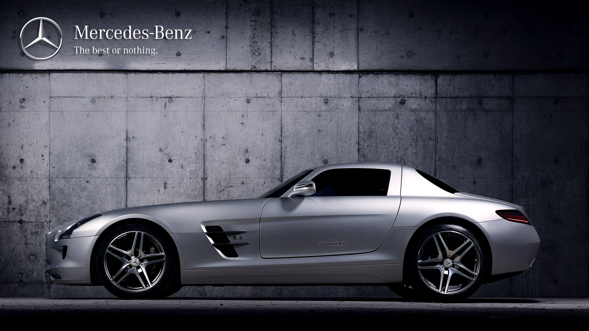 frederic mercier fashion photographer one color publicite packshot automobile voiture supercar mercedes sls amg