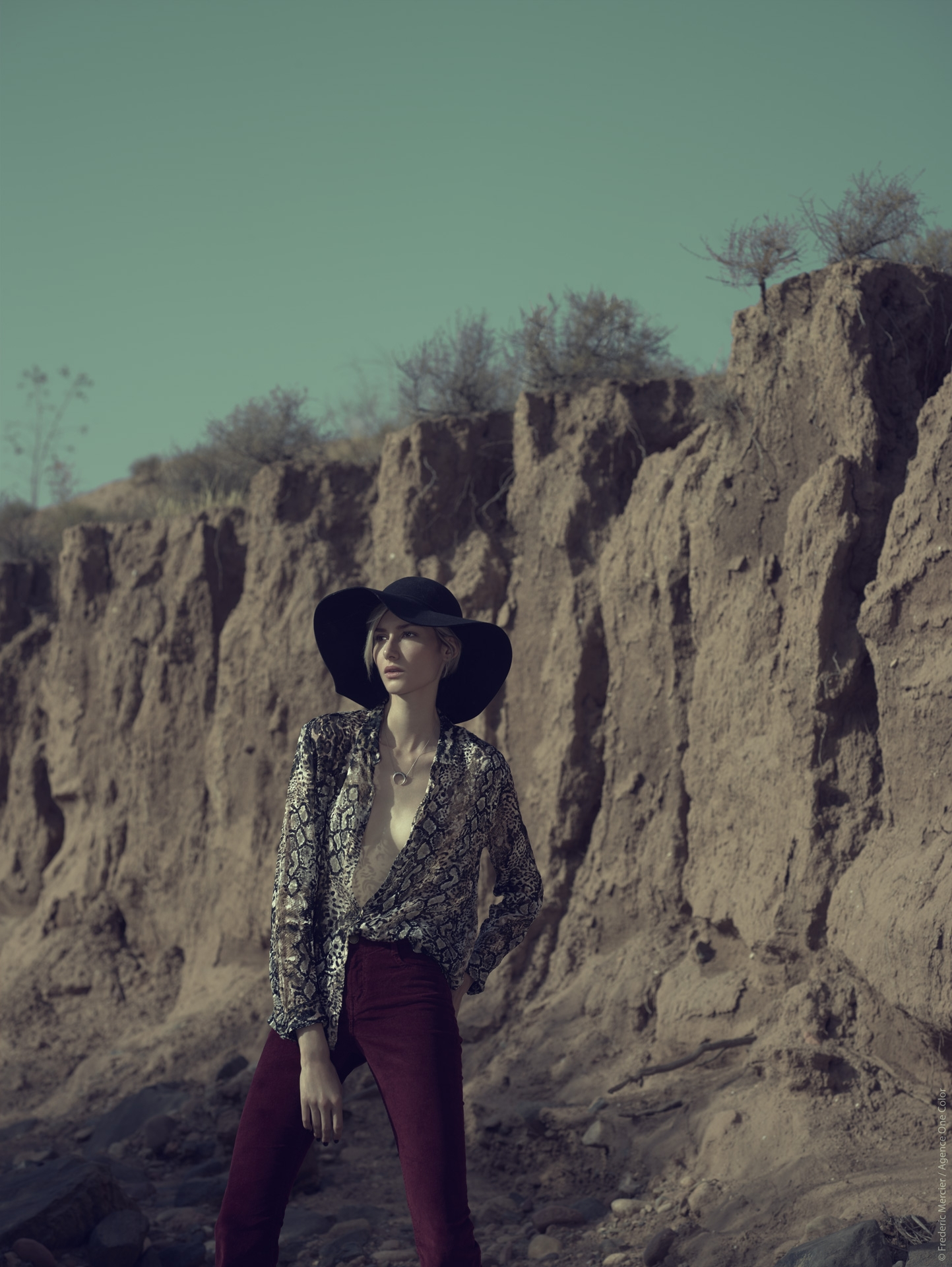 desert american wild lifestyle the kooples maje frederic mercier photographer one color