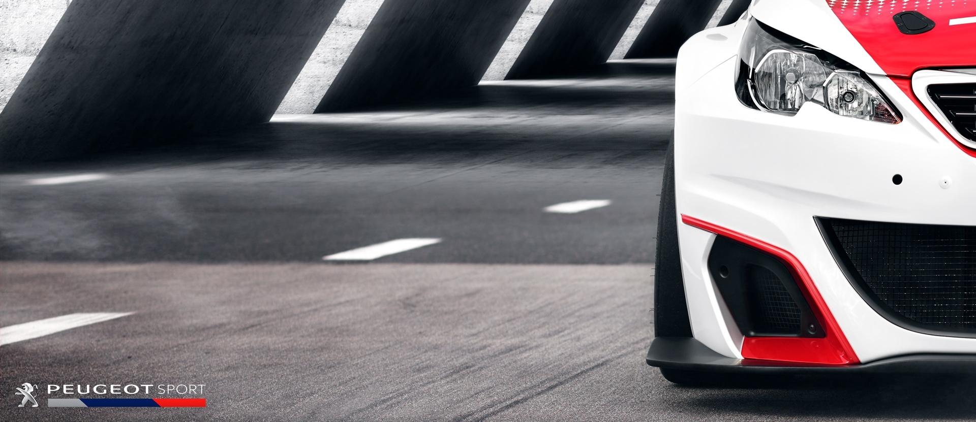 frederic mercier fashion photographer one color publicite packshot automobile voiture supercar peugeot rc sport