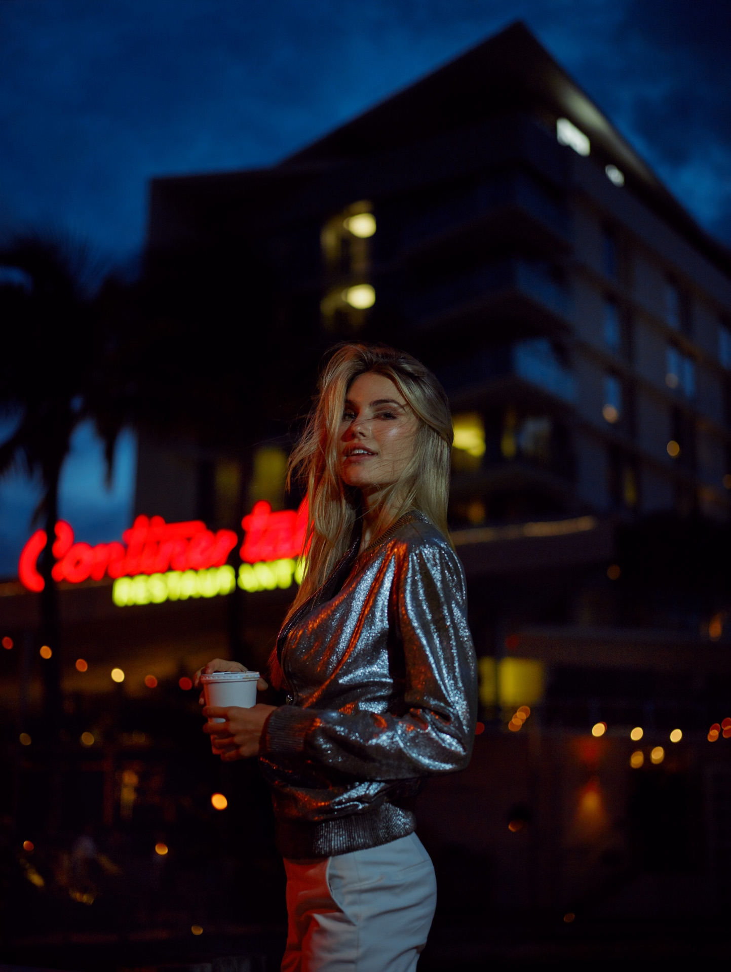 miami vaeda motel hotel continental american palm wild lifestyle the kooples maje frederic mercier photographer one color