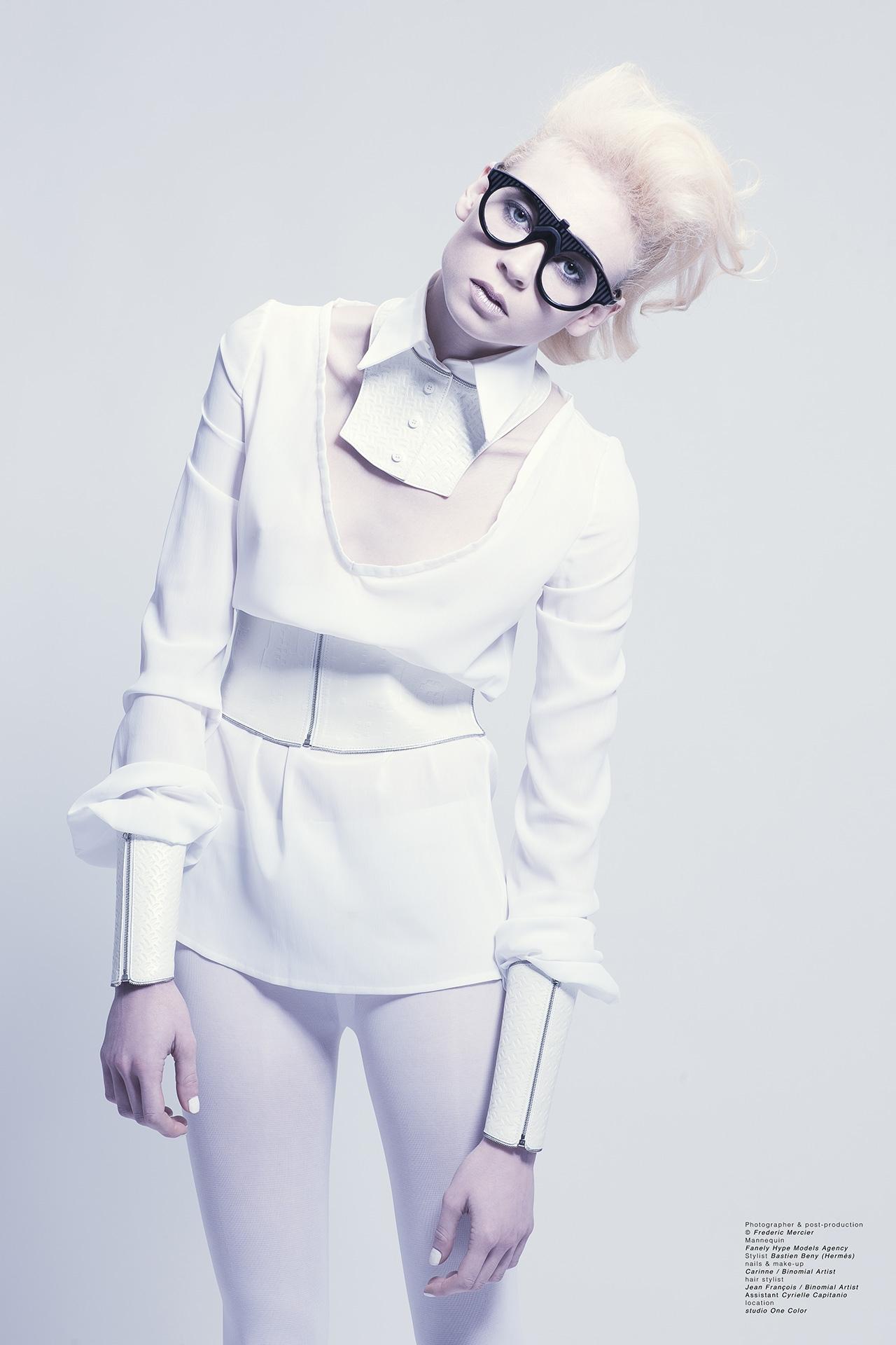 hermes frederic mercier photographer edito fashion bastien beny one color