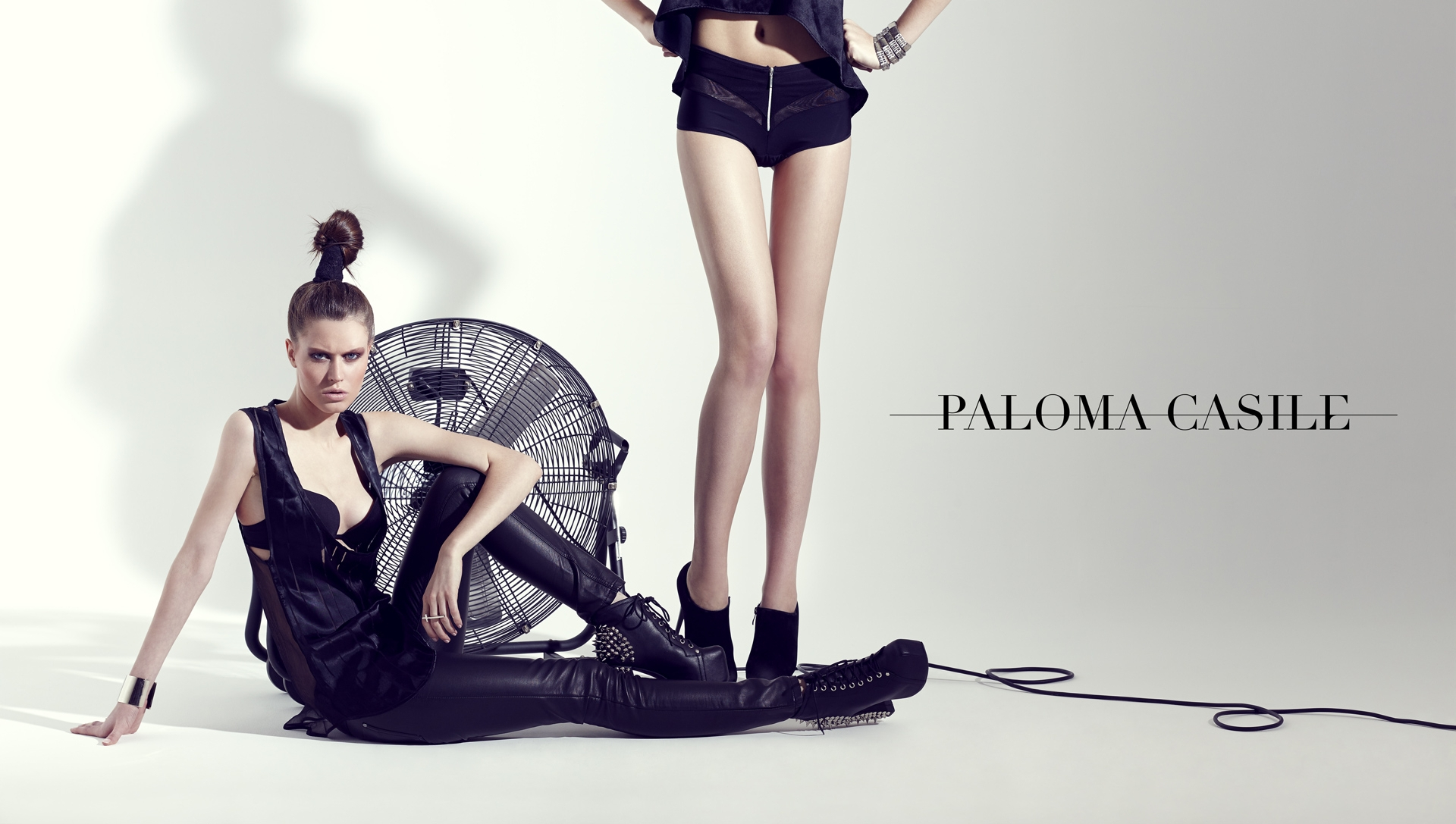 paloma casile editorial lingerie frederic mercier fashion photographer one color