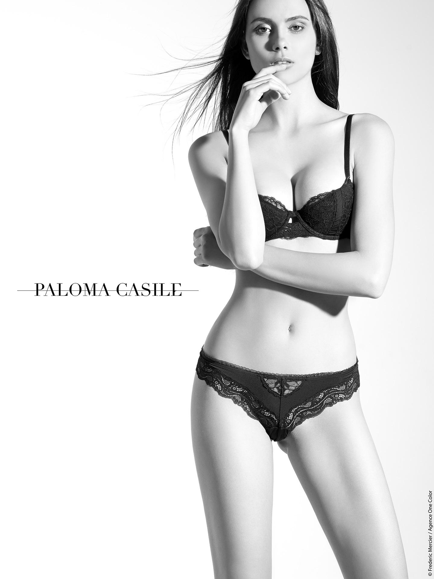 paloma casile ss 2015 campaign lingerie underwear frederic mercier fashion photographer one color